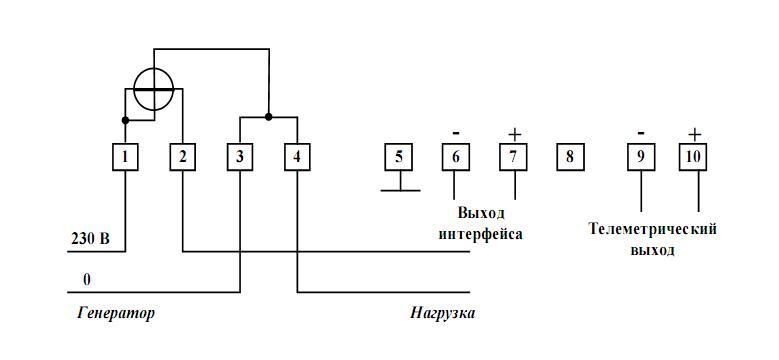 5) Схема подключения