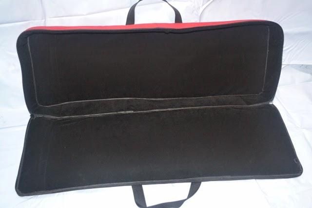 Tas keyboard roland dengan bludru
