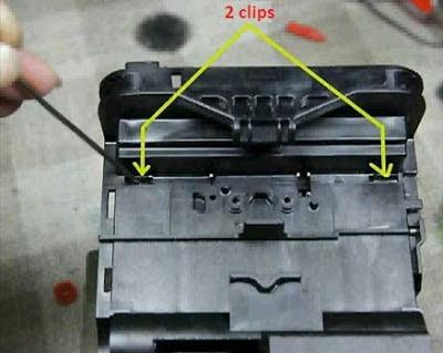 Epson printer head clips