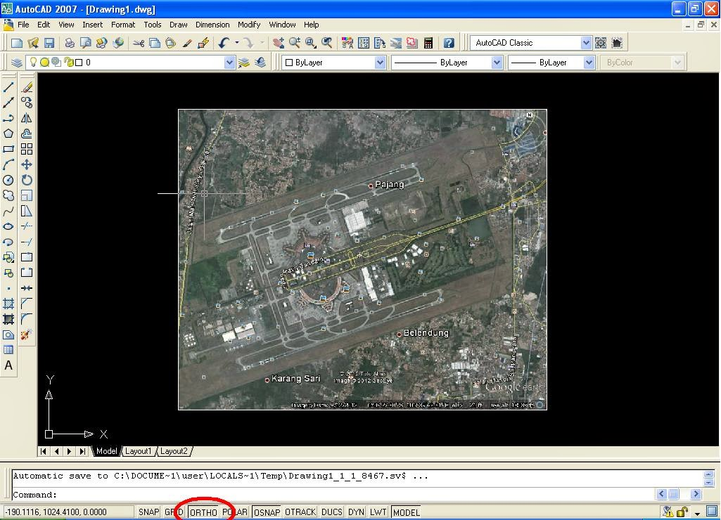 how to make route on google earth