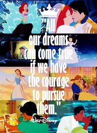 Nunca deixe de sonhar, pois isso também é viver!