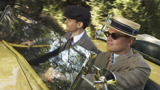 The Great Gatsby ~ Nick and Jay Driving | A Constantly Racing Mind