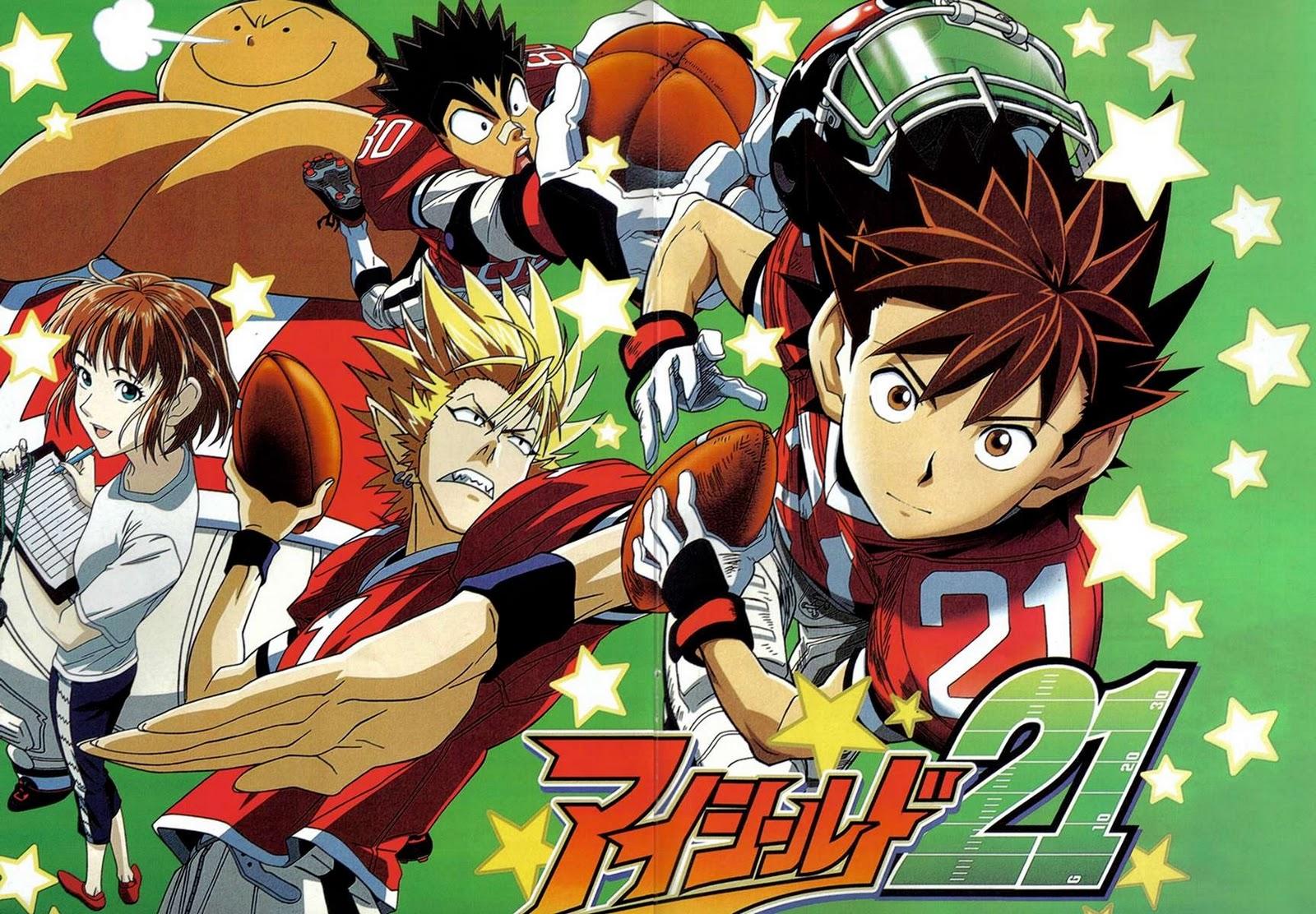 Kết quả hình ảnh cho Eyeshield 21 anime