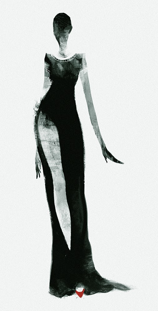 ©Bing Liu. Ilustración | Fashion Illustration