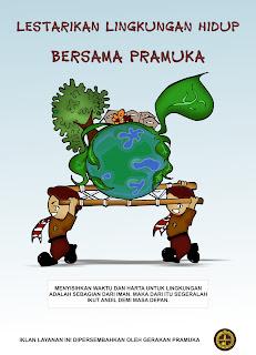 Contoh Gambar Poster lingkungan alam