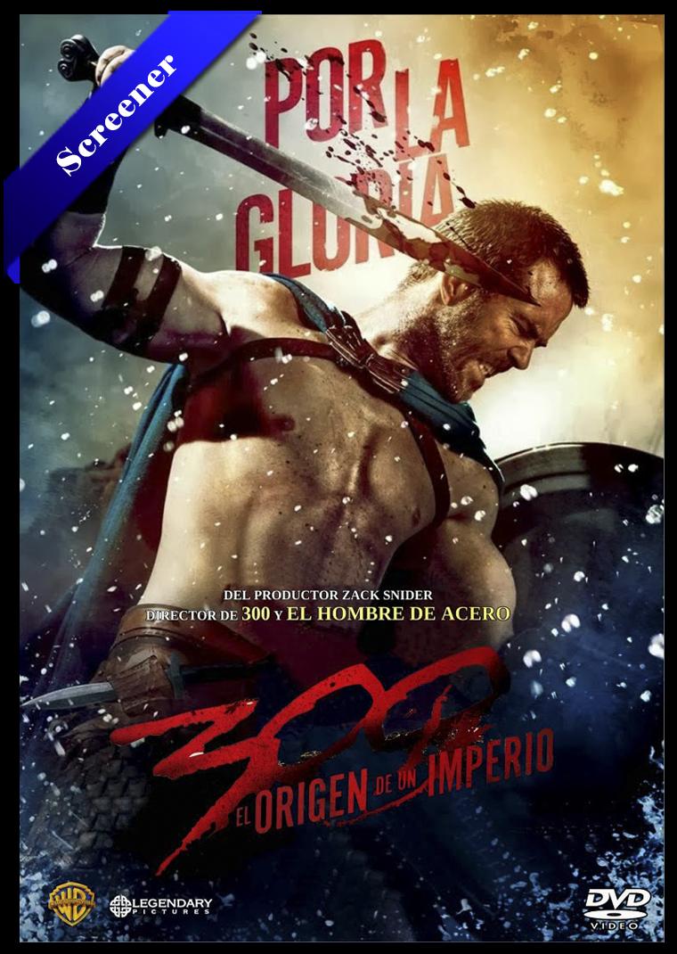 300: El Origen De Un Imperio Screener Castellano 2014