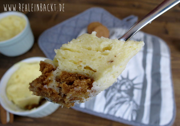 Rezept für zwei leckere Käsetassenkuchen [oder] Cheese-Mug-Cakes aus der Mikrowelle | Foodblog rehlein backt