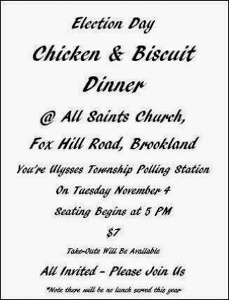 11-4 Election Day Dinner All Saints