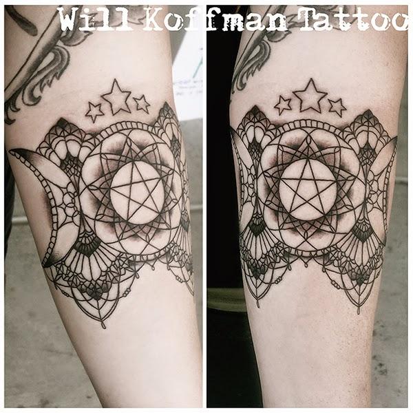 Значение татуировки пентаграмма - тату пентаграмма значение