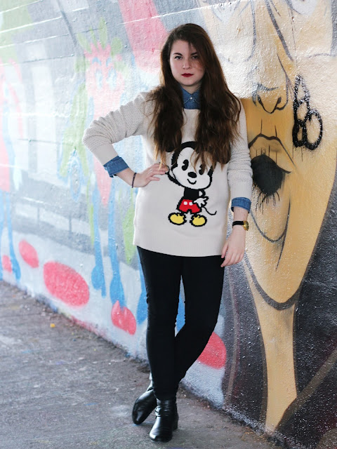 Outfit of the day mickey blog mode