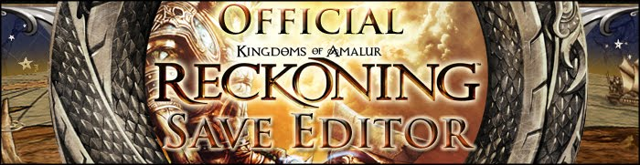 Kingdoms of Amalur: Reckoning Save Editor