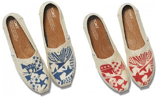 Shop the Vote: TOMS women's classics