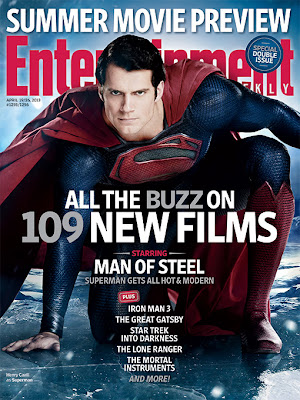 Entertainment Weekly, Man of Steel, Superman, Henry Cavill