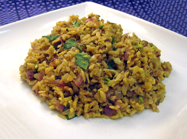 Cooking with Corey: Recipe #236: Mushroom Rice Pilaf with Fresh Herbs