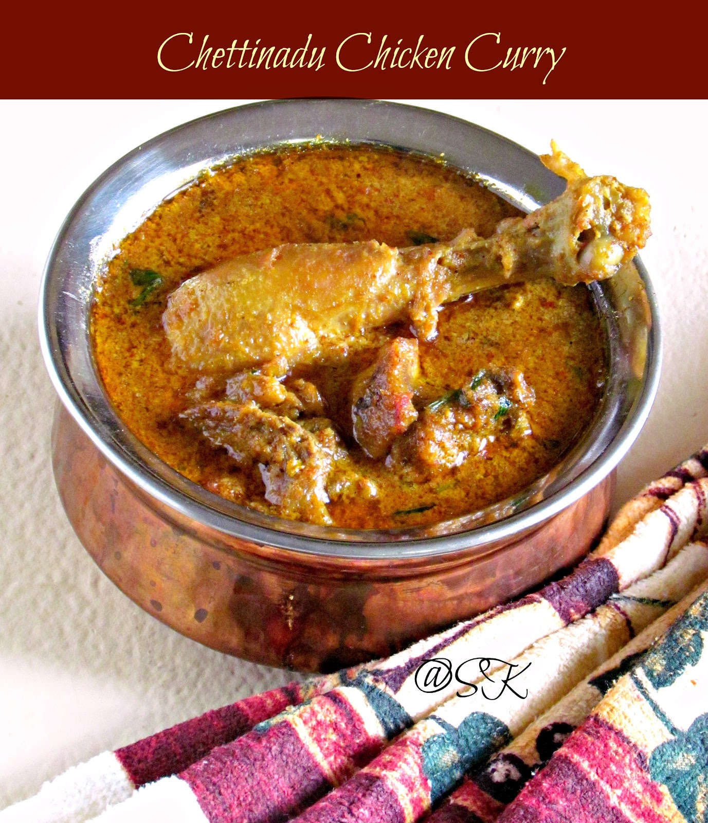 how to make authentic curry chicken
