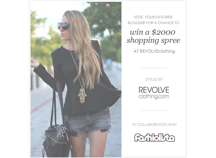 Fashiolista contest blogger Mes Voyages à Paris, Fashionblog, Revolve Clothing