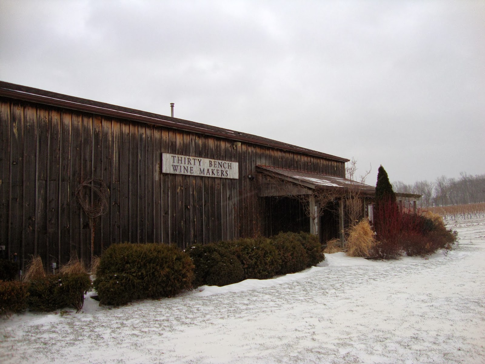 Thirty Bench Wine Makers, located in Beamsville Ontario