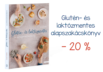 Glutén- és laktózmentes alapszakácskönyv 20% kedvezménnyel!!