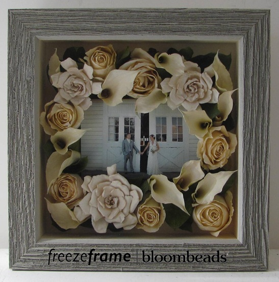 Frame your wedding flowers preserve your bouquet in a frame junglespirit Image collections