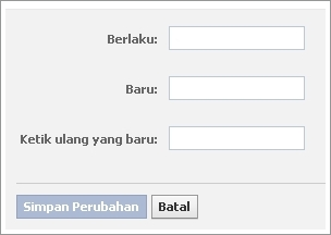 password baru facebook