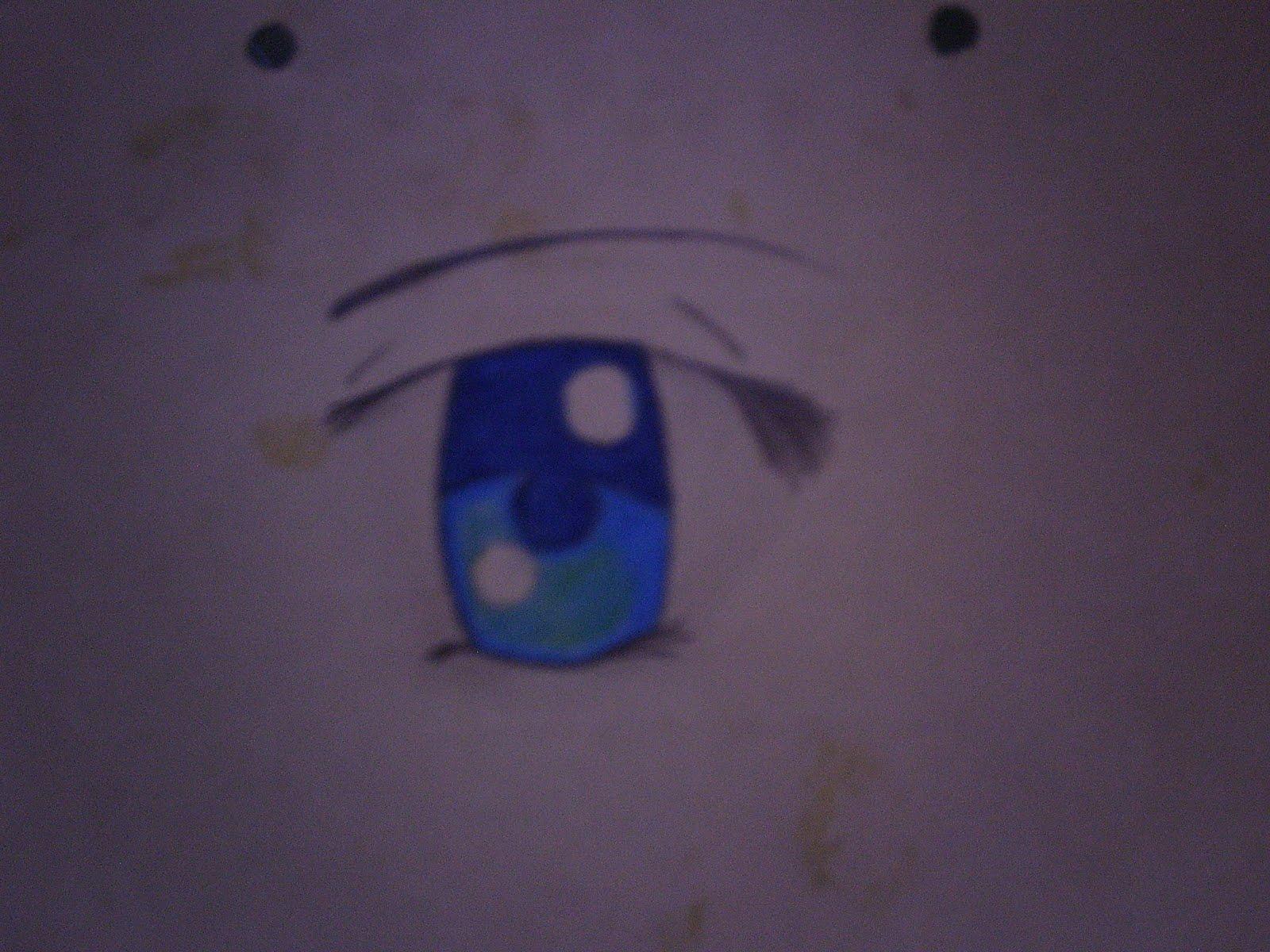 Aprende a Dibujar ojos Anime DIGI0004