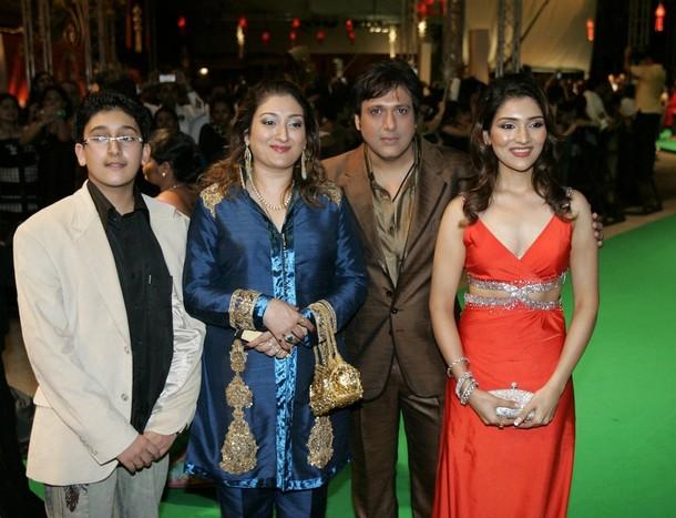 Govinda Family Photo