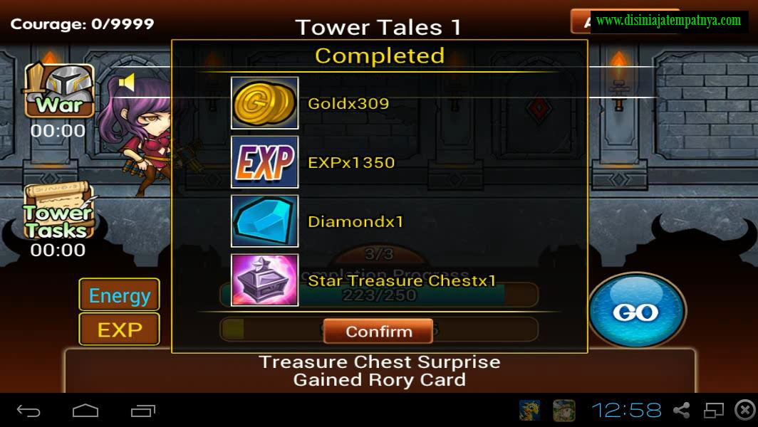 Tower Completed - Hero Dream