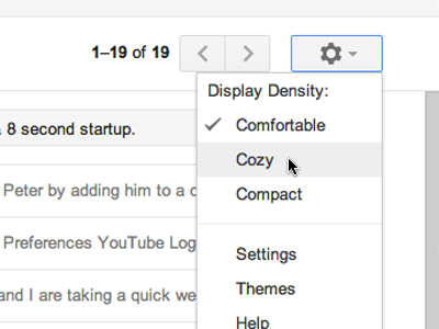 Gmail gets a Makeover and am Lovin it!