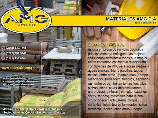 MATERIALES AMG C.A en Paginas Amarillas tu guia Comercial