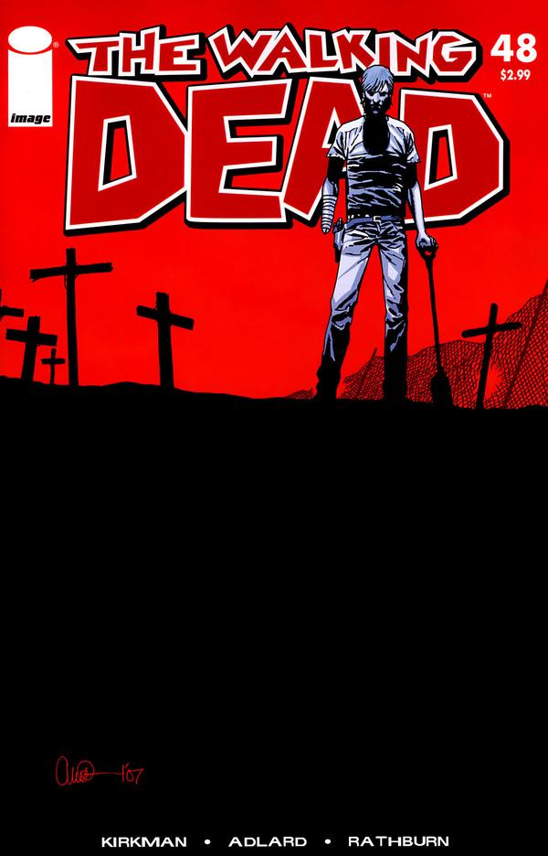 The Geeky Nerfherder: Comic Book Art: 'The Walking Dead'