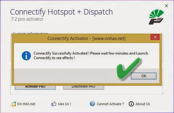 Как connectify сделать pro