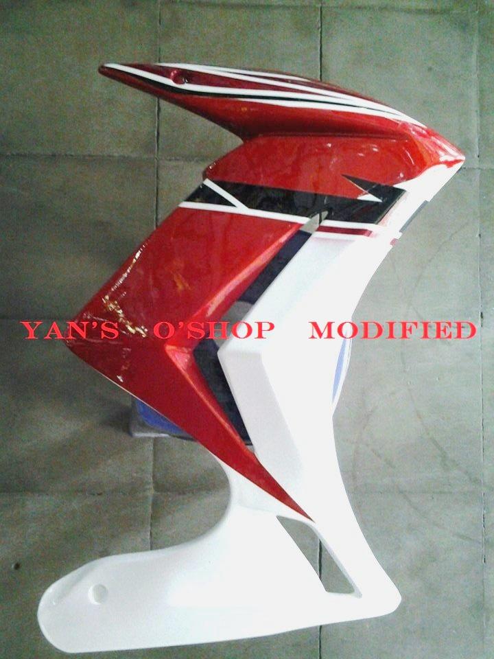 Half Fairing Nvl Airbrush Yan's O'Shop Variasi Motor