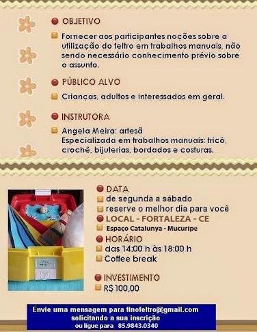 CURSO BÁSICO - Feltro