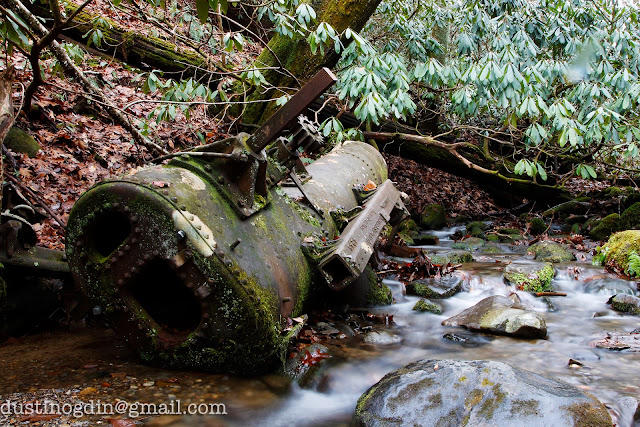 Abandoned Steam Engine Body - Great Smoky Mountains