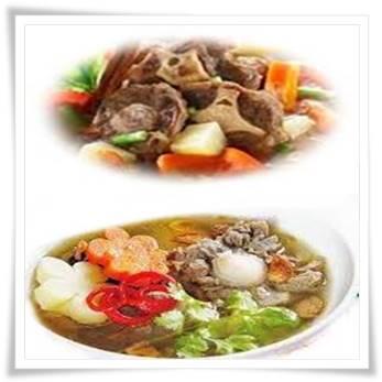gambar resep cara membuat sup buntut spesial enak dan lezat
