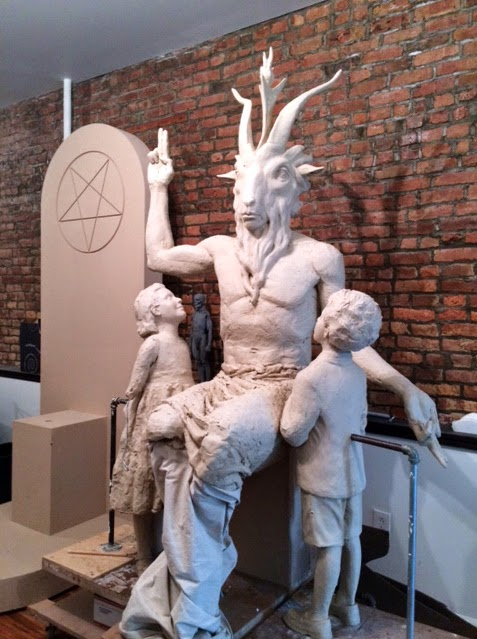 Here's the First Look at the New Satanic Monument Being Built for Oklahoma's Statehouse
