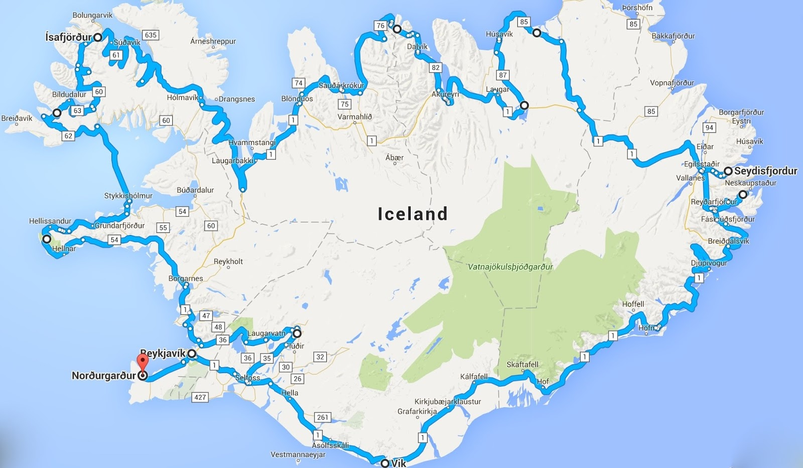 iceland itinerary | lee-reid family travels & photo blog