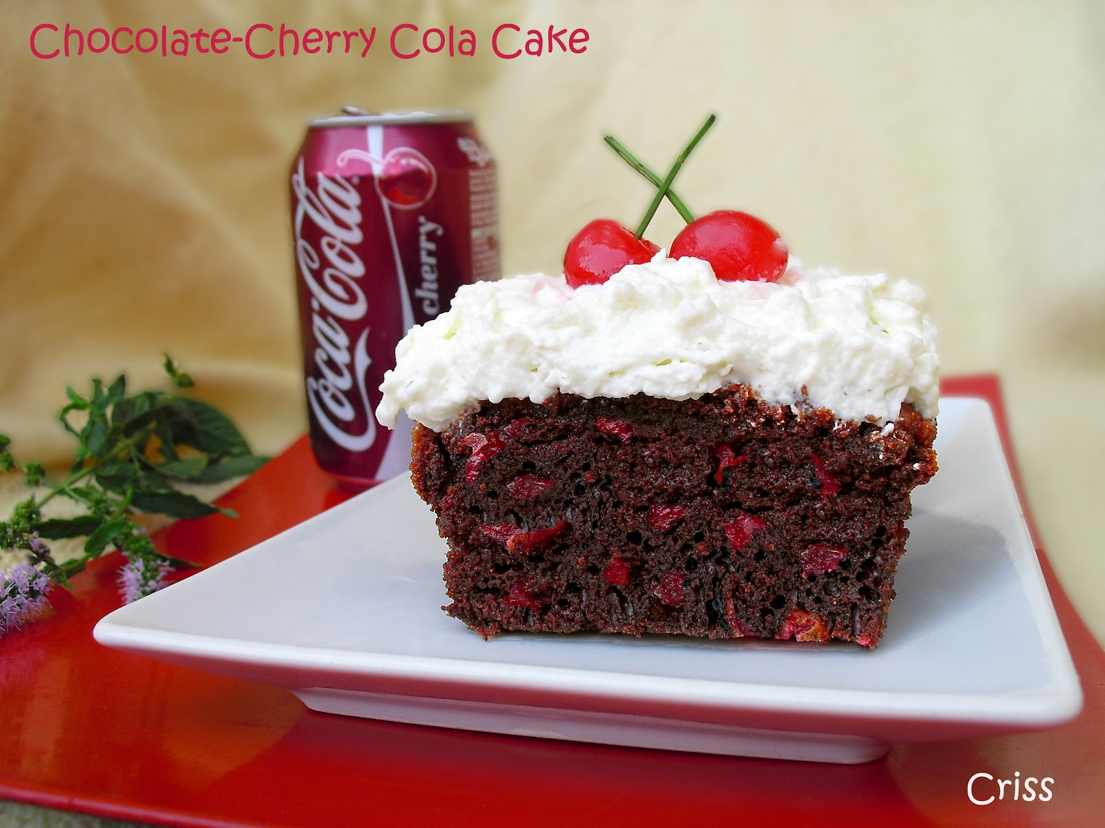 ALIMENTA: CHOCOLATE-CHERRY COLA CAKE