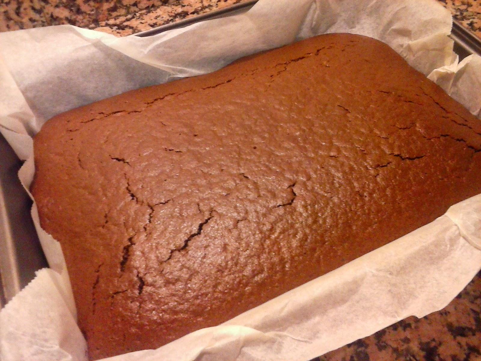 Receta bizcocho de chocolate sin huevo