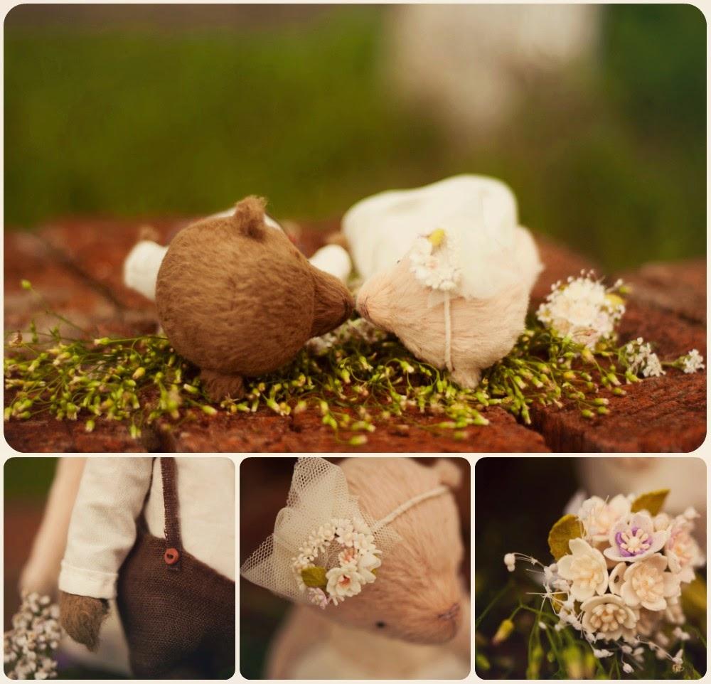 мишки тедди,свадебные мишки тедди, подарок на свадьбу, свадебный аксессуар, игрушки ручная работа,мишка тедди