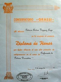 """Diploma de Honor"""
