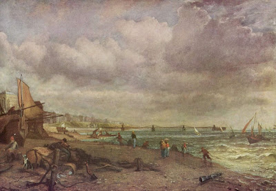 The Chain Pier, Brighton, by John Constable