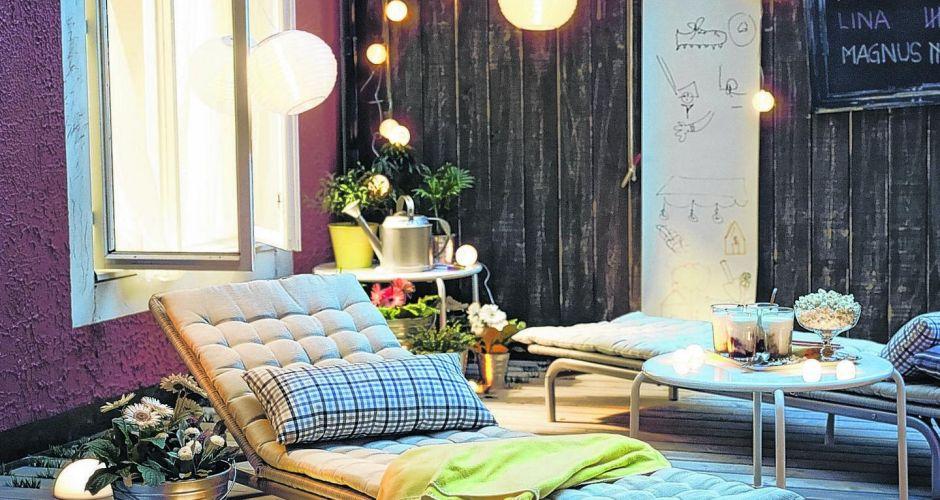 interior relooking: casa al mare: come illuminare il giardino - Piccolo Giardino Al Mare