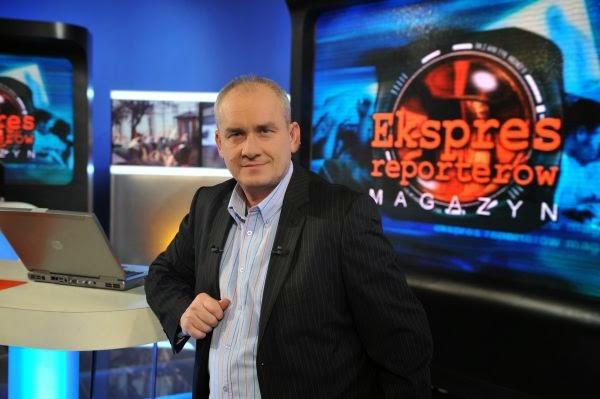 """Michał Olszański – prowadzący """"Magazyn Ekspresu Reporterów"""" (fot. TVP)"""