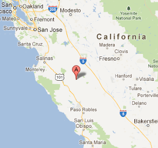 earthquake_fresno_central_california_today_epicenter_map