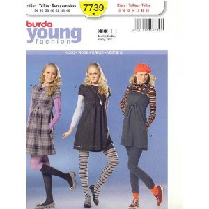 Burda 7739, Julia Bobbin