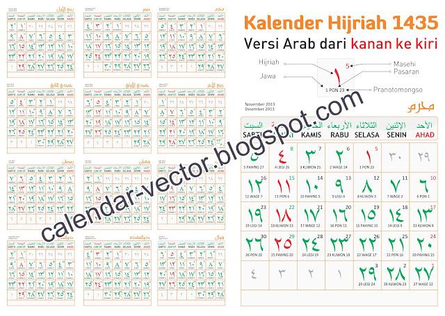 TEMPLATE KALENDER 2015, Tanggalan 2015, vector editable corel draw cdr ...