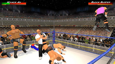 Wrestling Revolution 3D v1.530 Mod Apk-screenshot-1