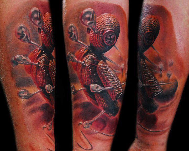 Choisir calligraphie pour la tatouage