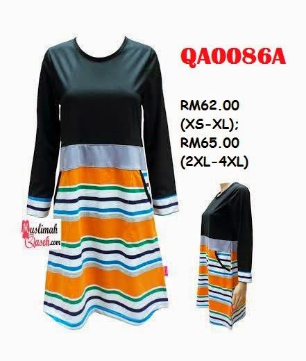 T-Shirt-Muslimah-Qaseh-QA0086A